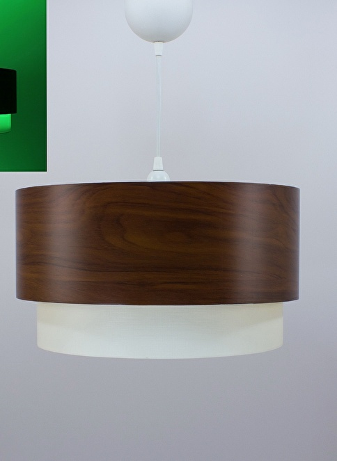 Crea Lighting Fosforix  Sarkıt 40 cm/Wood/Betula Renkli